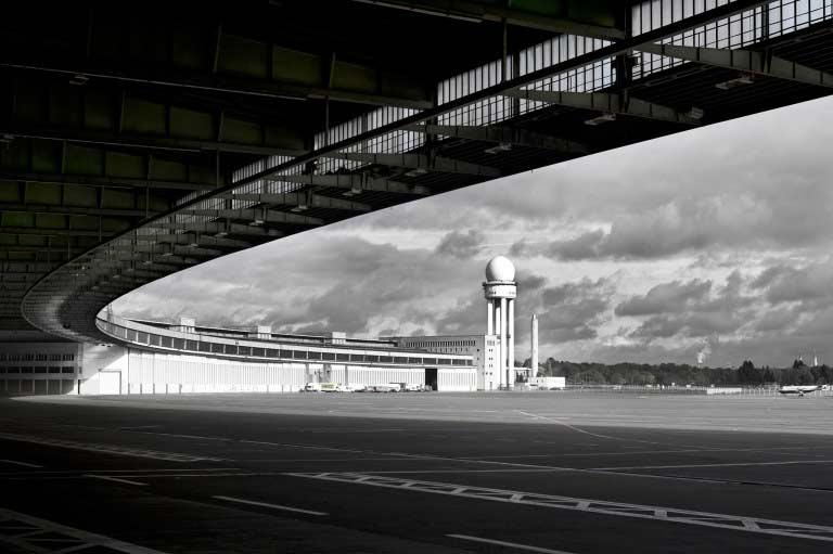 Architekturfotografie Berlin – Tempelhofer Flughafen