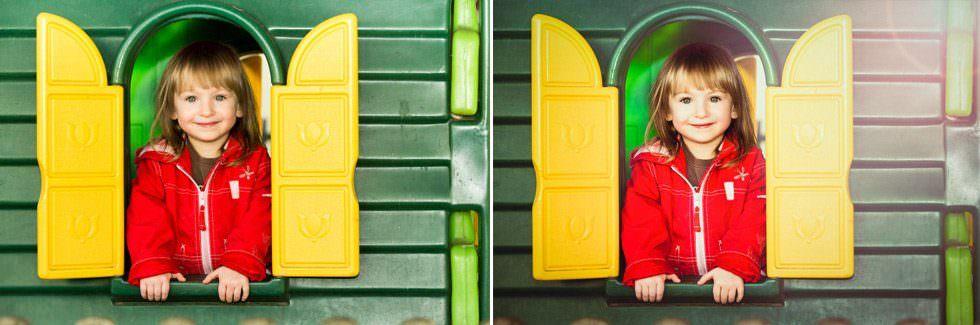 Kinderfoto – Fotoretusche