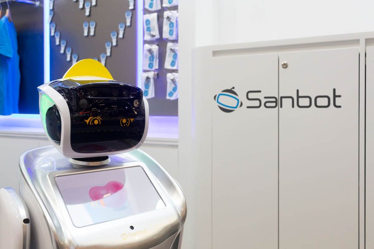 IFA – Messe Berlin – Sanbot